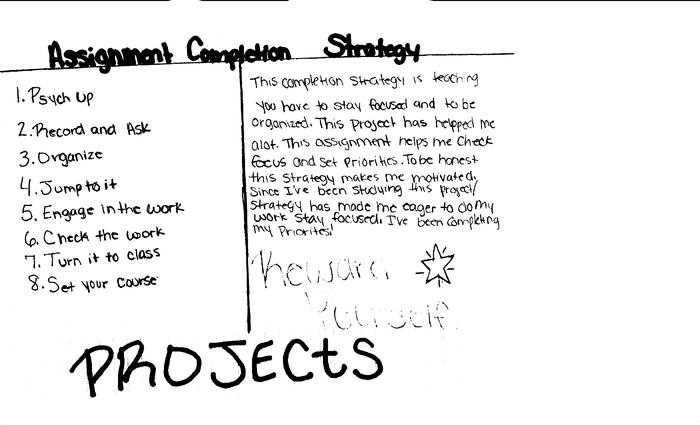 The Assignment Completion Strategy